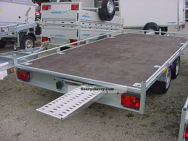 Car transporter flatbed 2.7 t 4.0 m est. ground Trailer Car carrier