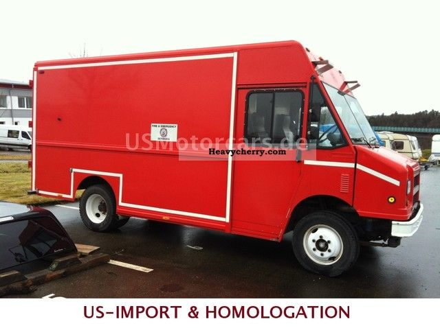 2002 FREIGHTLINER MT 45 - U S  FOOD TRUCK 2002 Other vans/trucks up