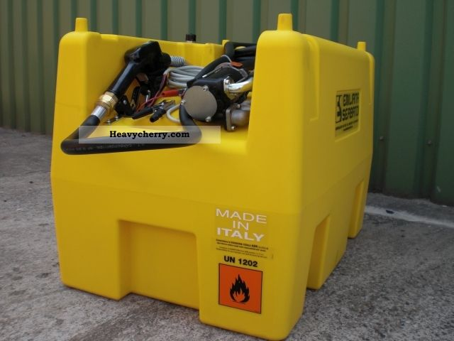Construction Gas Tank : Mobile fuel tank system l other construction