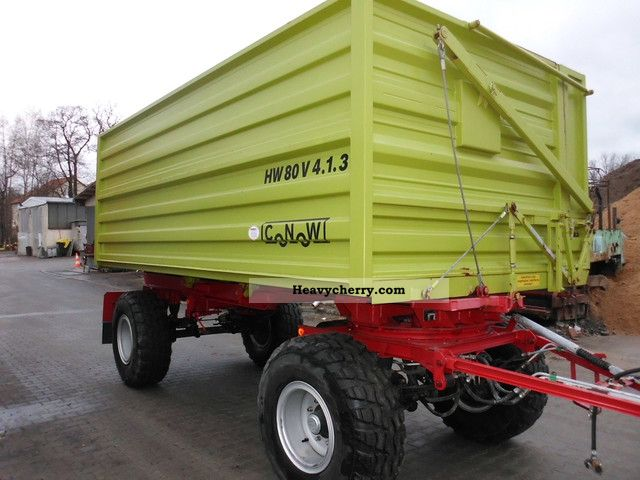 2008 Other  Conow, Type: HW 80 ZSK, Year: 2008 Trailer Silo photo