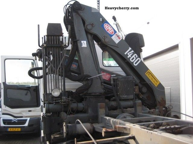 2002 Other  HMF 1460 Kraan rotator Knijper Truck over 7.5t Truck-mounted crane photo