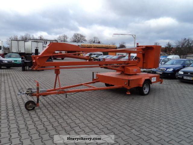 Hydraulic Platform Trailers : Cobra hydraulic work platform trailer photo and specs