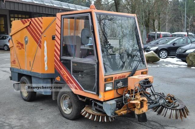 Rolba Sweeper City Cat K 1500 1986 Other Construction