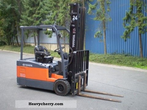 2005 Other  TOYOTA 7FBEF 20 Forklift truck Other forklift trucks photo
