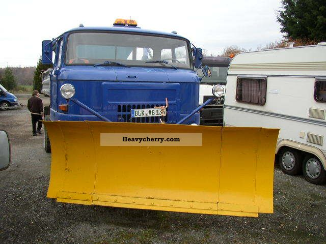 1989 Other  IFA L 60 winter maintenance, snow plow / spreader 4x4 Truck over 7.5t Tipper photo