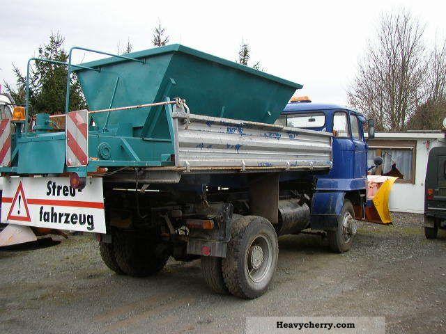 Ifa Truck Pics Hd: IFA L 60 Winter Maintenance, Snow Plow / Spreader 4x4 1989