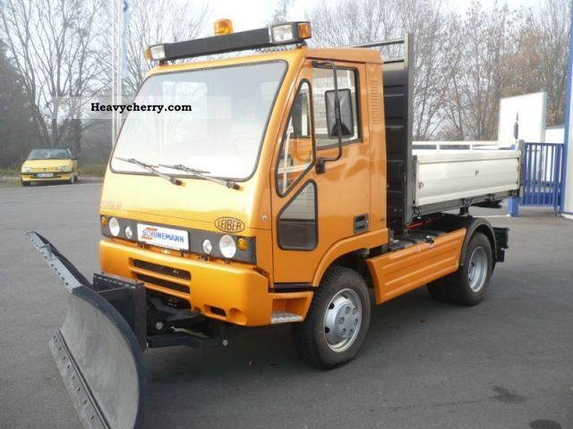 2007 Other  Leiber Puma (hitch) Van or truck up to 7.5t Three-sided Tipper photo