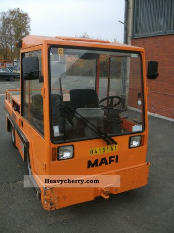 1998 Other  MAFI MTE 3/30 Forklift truck Other forklift trucks photo