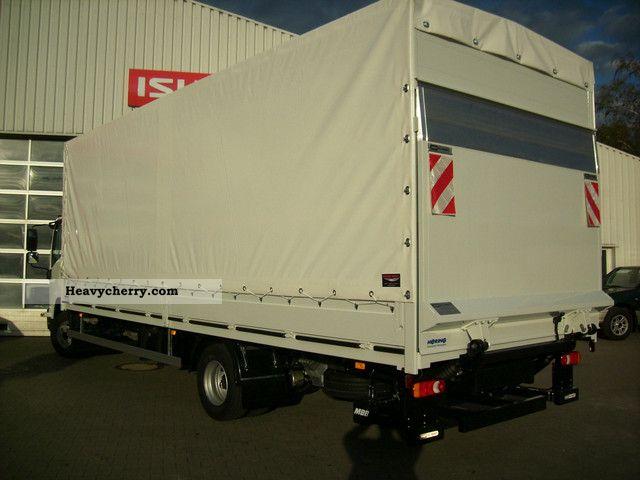ISUZU F-Series 12T 6300 KG payload 2011 Stake body and tarpaulin