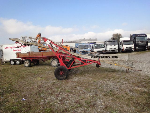 Hydraulic Platform Trailers : Fire ladder m hydraulic work platform trailer