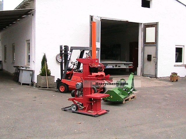Wood Splitters 22 Tons E Motor Pto 2012 Agricultural