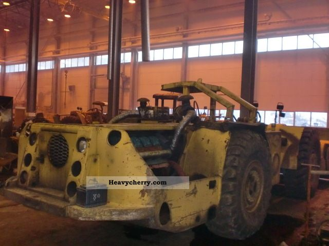 1981 Other  Wagner ST 5 E LHD Construction machine Wheeled loader photo