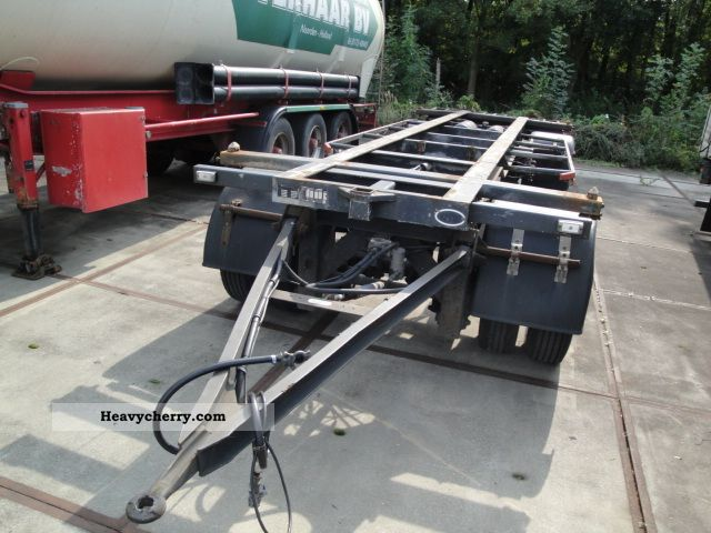 1992 Other  Vogelenzang 2-axes container Trailer Chassis photo