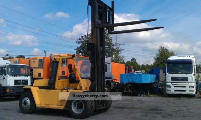 10 Ton Fork Lift Cat : Caterpillar v m forklift ton truck front
