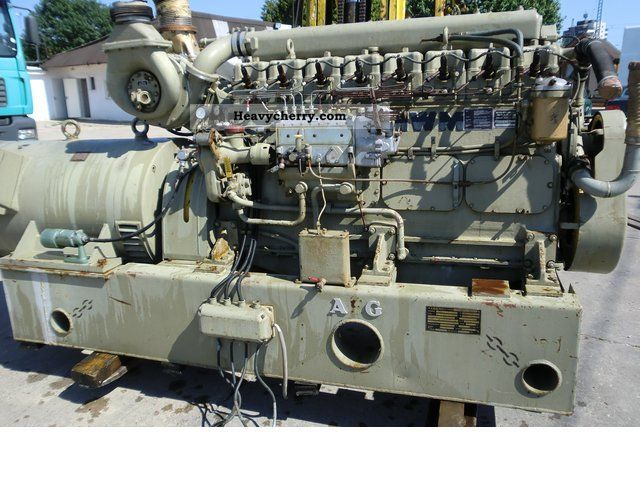 1966 Other  AEG electric generator generator 270kVA Van or truck up to 7.5t Other vans/trucks up to 7 photo