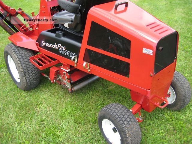 Reel Mower Toro Grounds PRO 2000 2011 Other agricultural