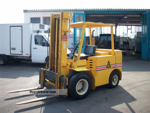 1980 Other  ACP 60 HD Forklift truck Other forklift trucks photo