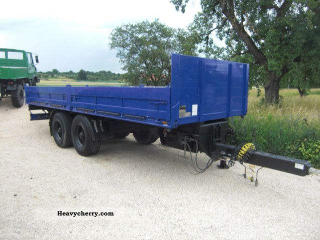 1989 Other  Z 14 L, tandem trailers, flatbed Trailer Stake body photo