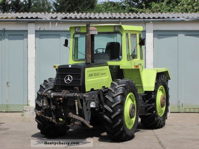 Tractor mercedes benz mb trac 1500 3660 hrs 1984 other for Mercedes benz tractors