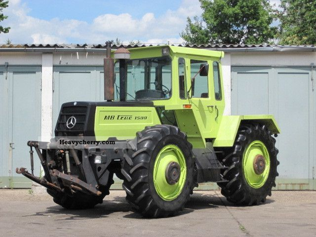 Tractor Mercedes Benz Mb Trac 1500 3660 Hrs 1984 Other