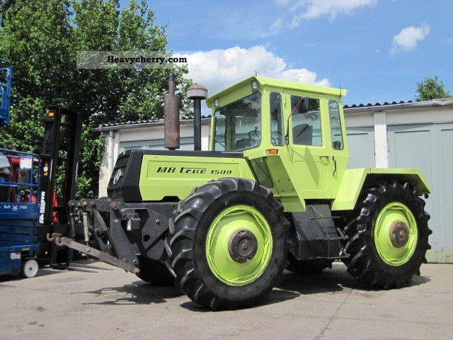tractor mercedes benz mb trac 1500 3660 hrs 1984 other. Black Bedroom Furniture Sets. Home Design Ideas