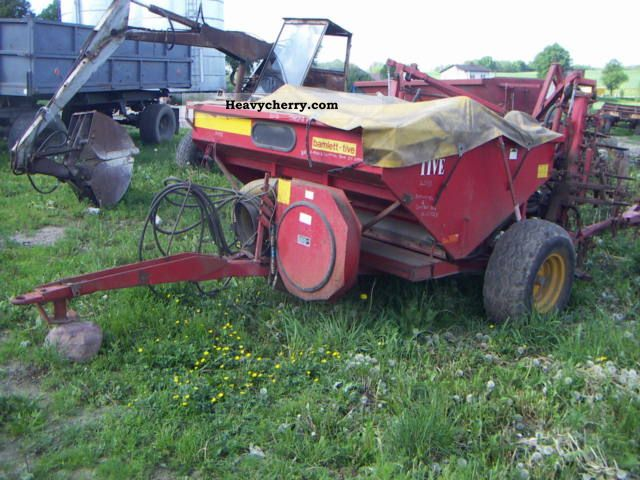 1999 Other  Overum Scopes Agricultural vehicle Seeder photo
