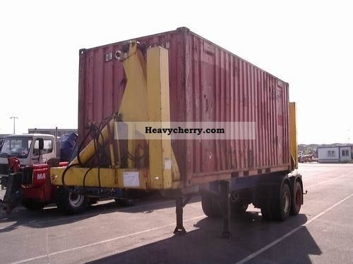 1975 Other  Triolift / Klaus side loader for 20 ft in Ghana Semi-trailer Swap chassis photo