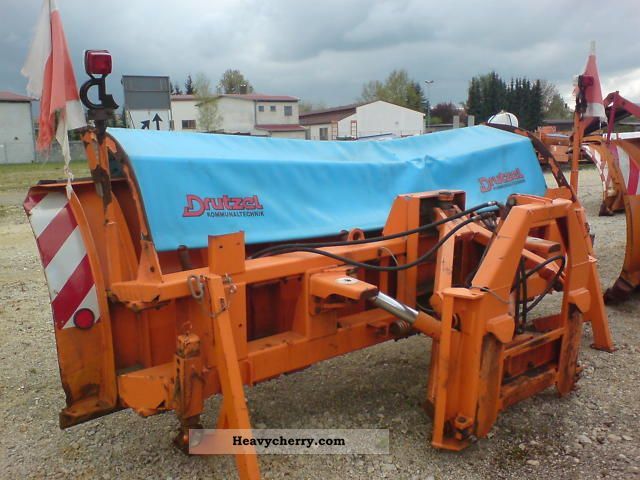 1998 Other  Snow plow Drutzel PV30-4 identical Beilhack Construction machine Other substructures photo