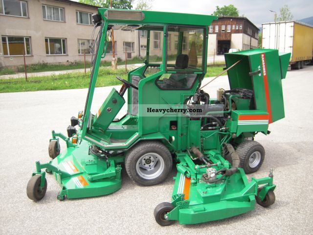Large Area Mower Ransomes T 51d 1995 Agricultural Reaper