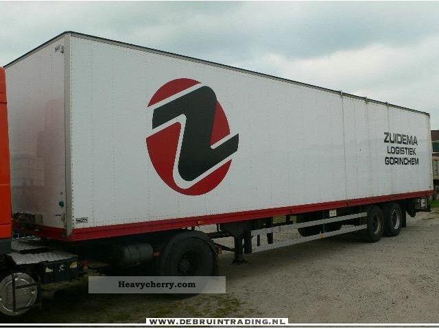 1998 Other  Talson 2 assig geisoleerd Semi-trailer Box photo