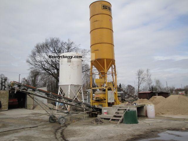 Mobile concrete batching plant sipe ttm other