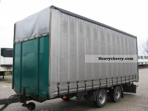 1998 Other  Other star x Trailer Stake body and tarpaulin photo