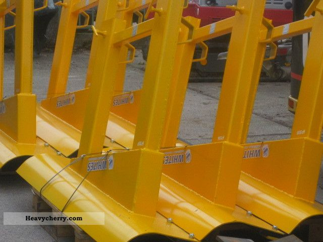 Used Forklift Snow Blades : Truck snow plow new front mounted