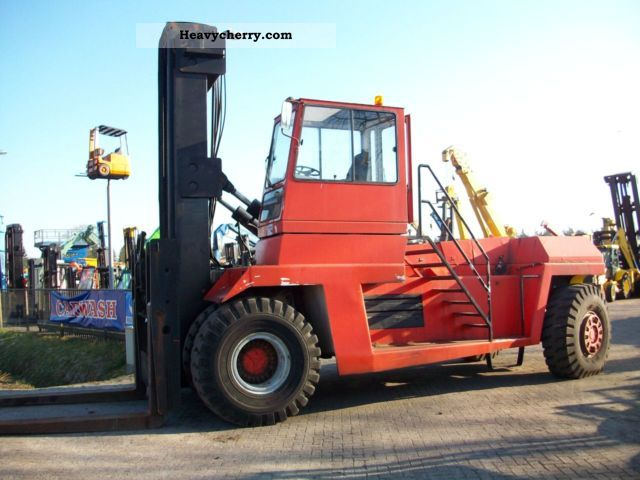 Fantuzzi FDC-420 1987 Container forklift truck Photo and Specs