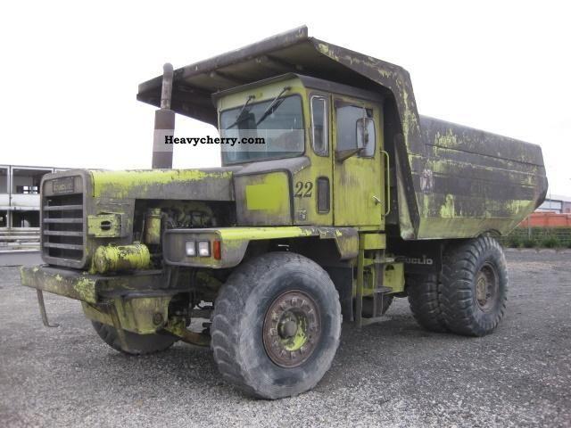 1980 euclid r25 208 dump trucks off road pinterest. Black Bedroom Furniture Sets. Home Design Ideas