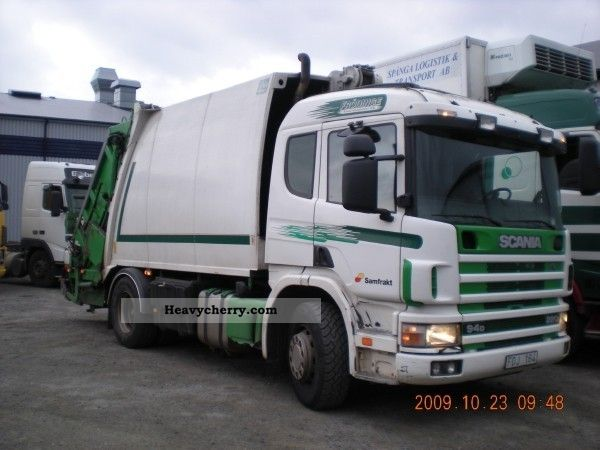 1998 Other  Scania P 94 Sopbil Van or truck up to 7.5t Chassis photo