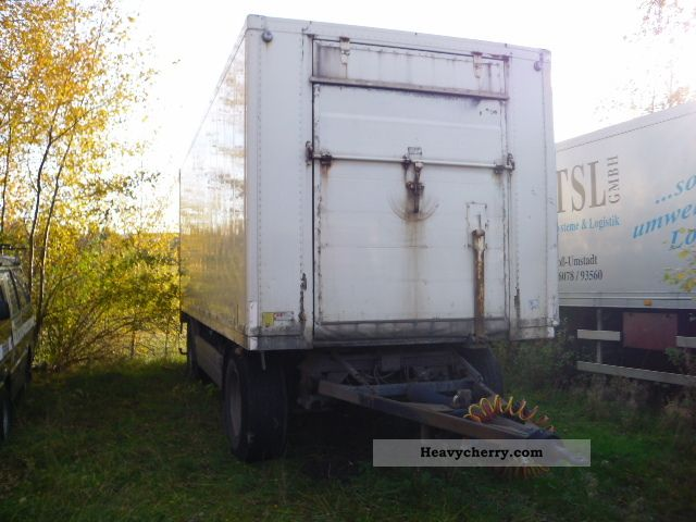 1998 Other  Pipe KA 18-L Trailer Refrigerator body photo