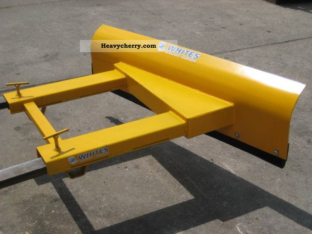 Used Forklift Snow Blades : Truck snow plow new other forklift trucks