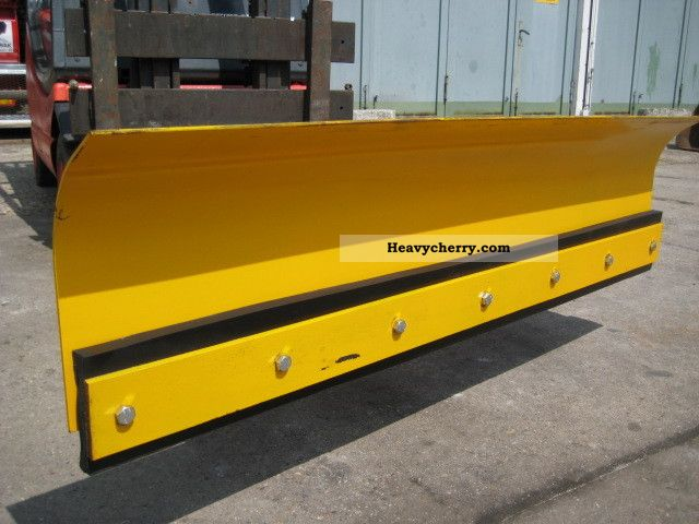 2011 Other  Truck snow plow snow plow - NEW Forklift truck Rough-terrain forklift truck photo