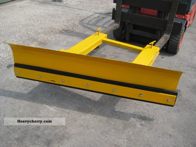 Used Forklift Snow Blades : Truck snow plow new rough terrain