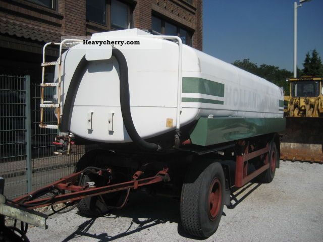 1972 Other  Kroll tank trailer A1, A3, 3 chambers Trailer Tank body photo