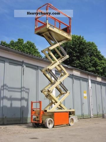 1998 Other  Platform JLG 1932-E ELECTRIC - 8.0m Van or truck up to 7.5t Hydraulic work platform photo