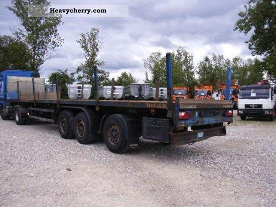 1998 Other  R 35/24 renewable PLATFORM Semi-trailer Stake body photo