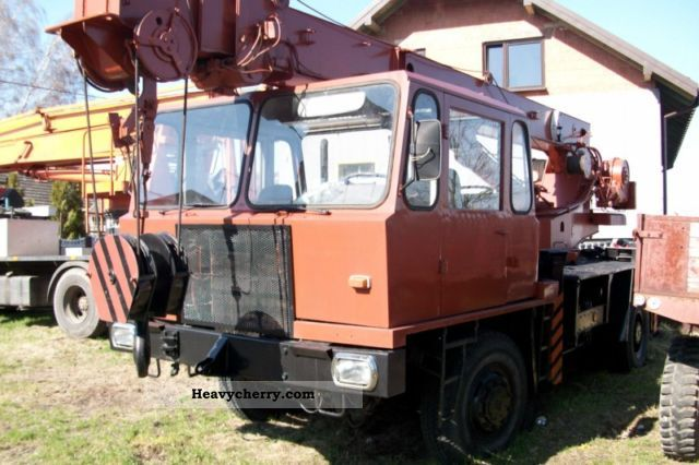 Ifa Adk 12 5 3 1984 Truck Mounted Crane Photo And Specs