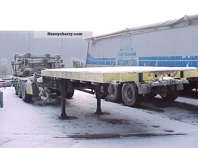 2005 Other  FLOOR FLO 18-27F1 Semi-trailer Platform photo