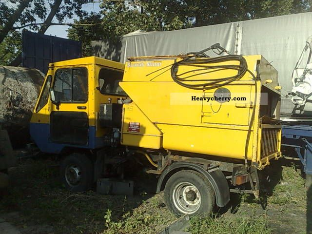 1998 Other  SCARAB MINOR Van or truck up to 7.5t Sweeping machine photo