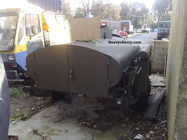 1980 Other  Cisterna DO paliwa Z Wojska Trailer Tank body photo