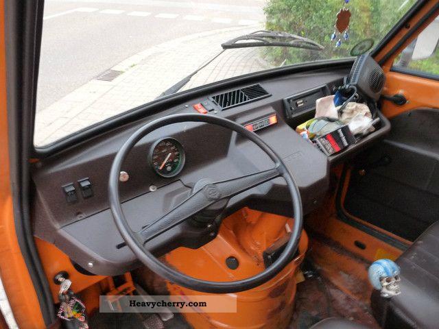 Piaggio Vespacar Ape Tipper P2 216ccm 1983 Tipper Truck