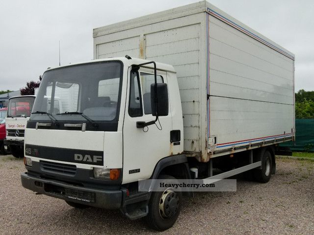 2000 DAF  AE45-150 Ti drinks body case Truck over 7.5t Beverage photo
