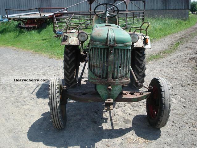 1952 Guldner  Güldner AF 15 Agricultural vehicle Tractor photo